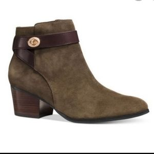 Coach Patricia Suede Booties Size 6.5